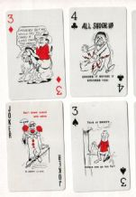 "Collectible Advertising playing cards. State Insurance ""safety"""